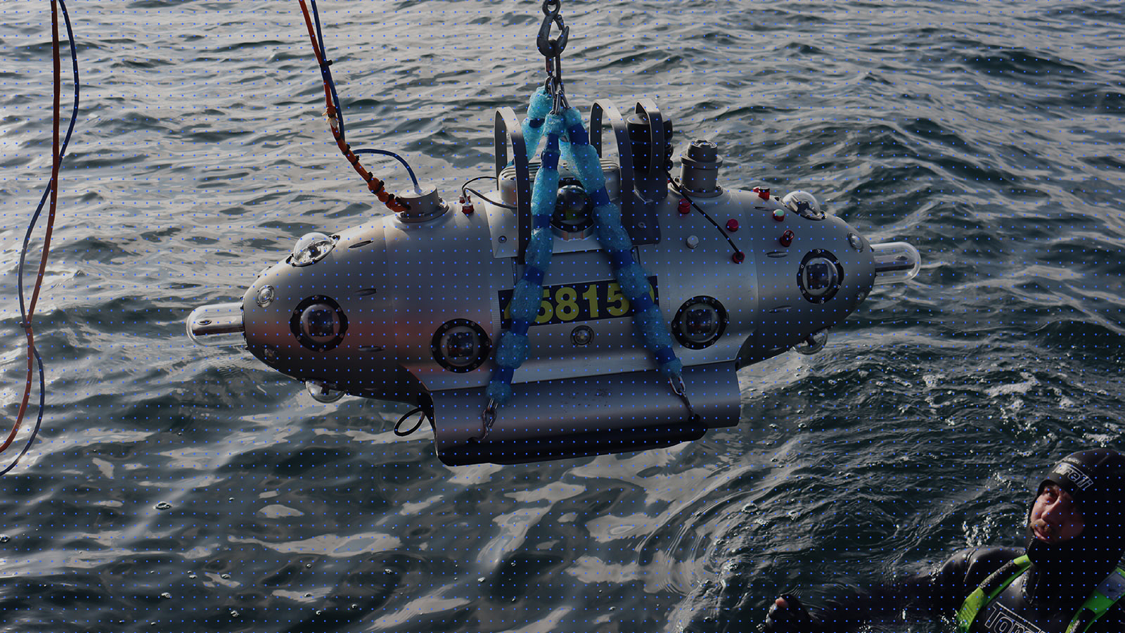 Video of AUV operation